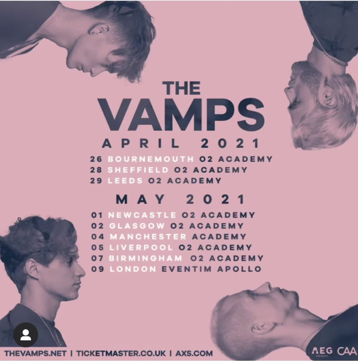 the vamps tour 2021